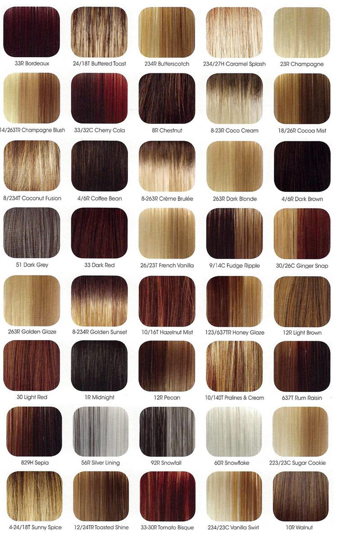 Revlon Color Chart